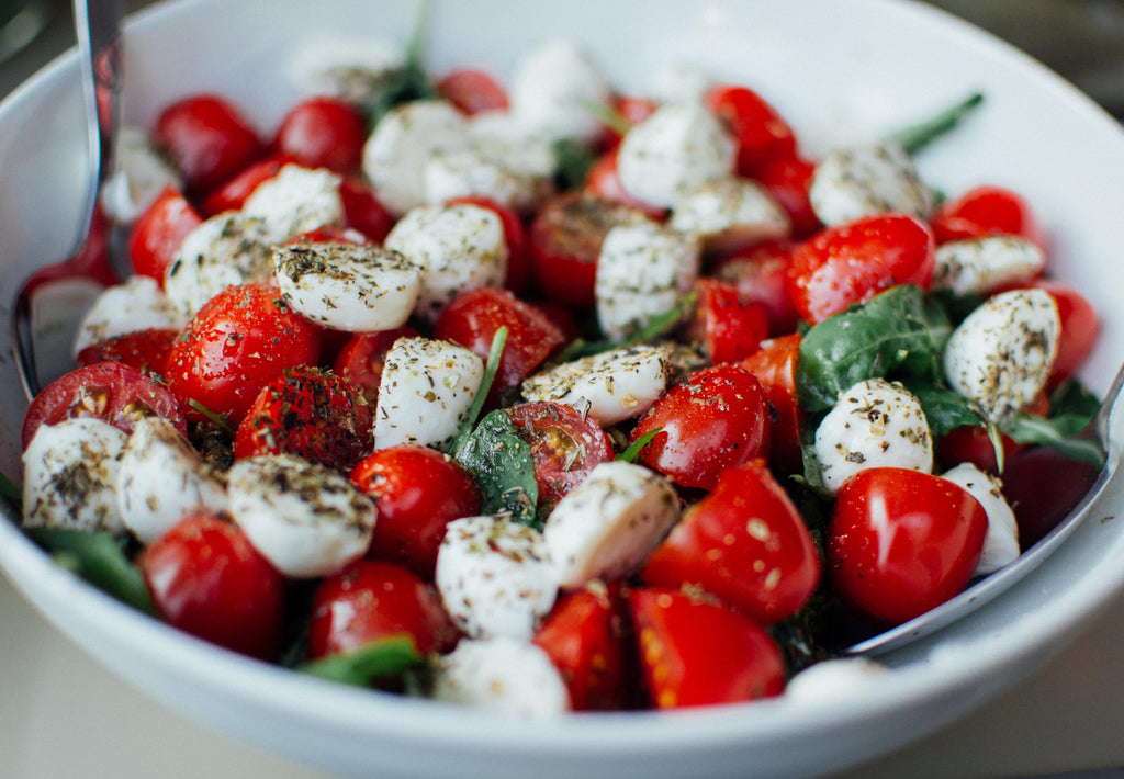 Gluten Free Super Fresh Caprese Salad Recipe