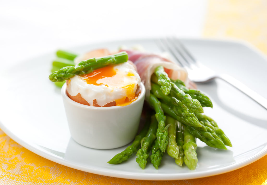 Gluten Free Dippy Egg with Asparagus Soldiers