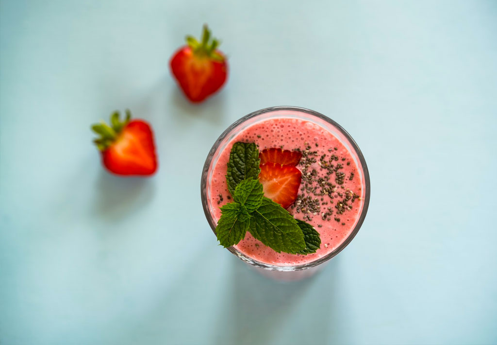Gluten Free Strawberry Smoothie Recipe