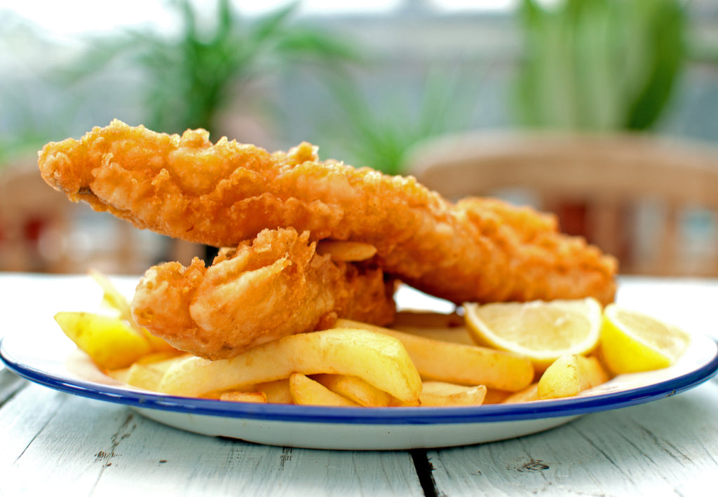 Gluten Free Battered Fish & Chips