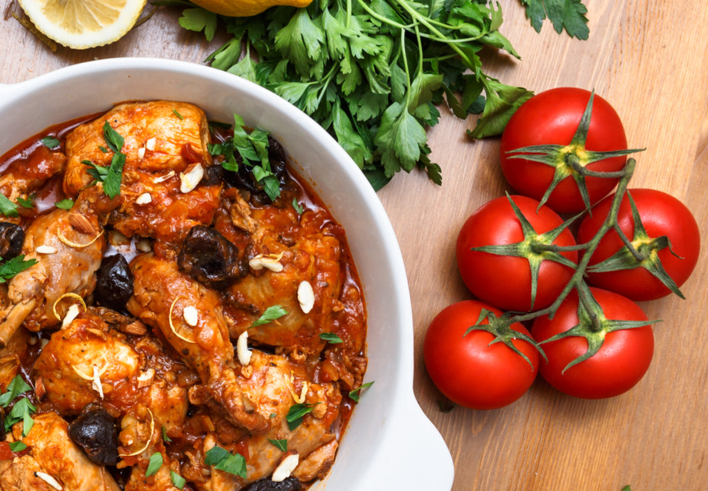Gluten Free One Pot Chicken Chasseur Recipe