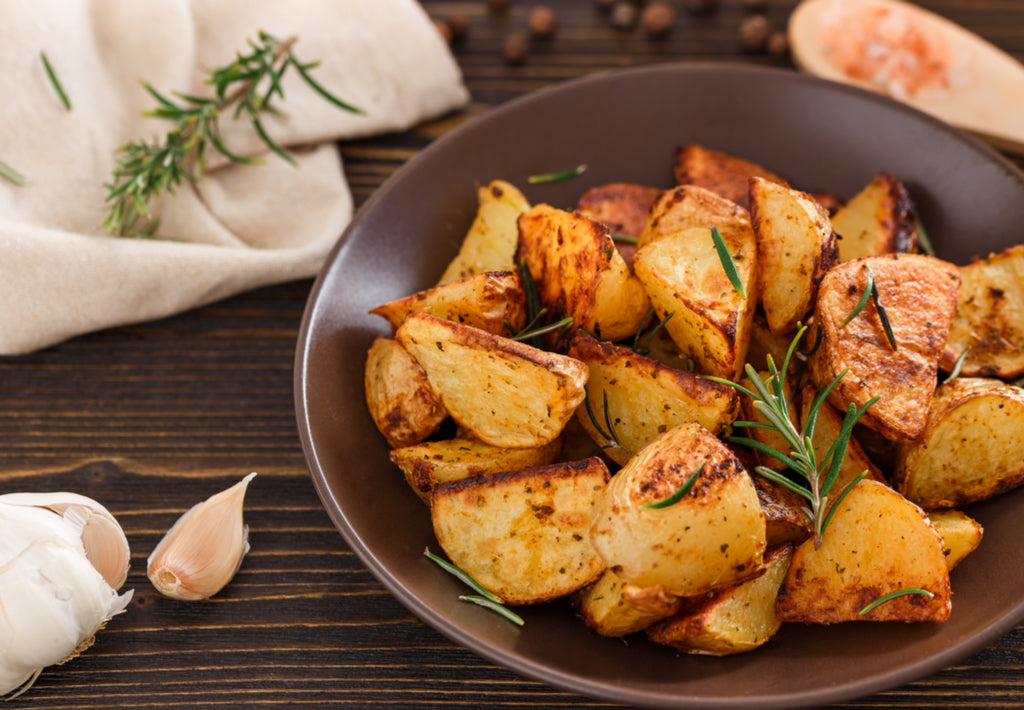 Gluten Free Roast Potatoes with Rosemary and Garlic Recipe