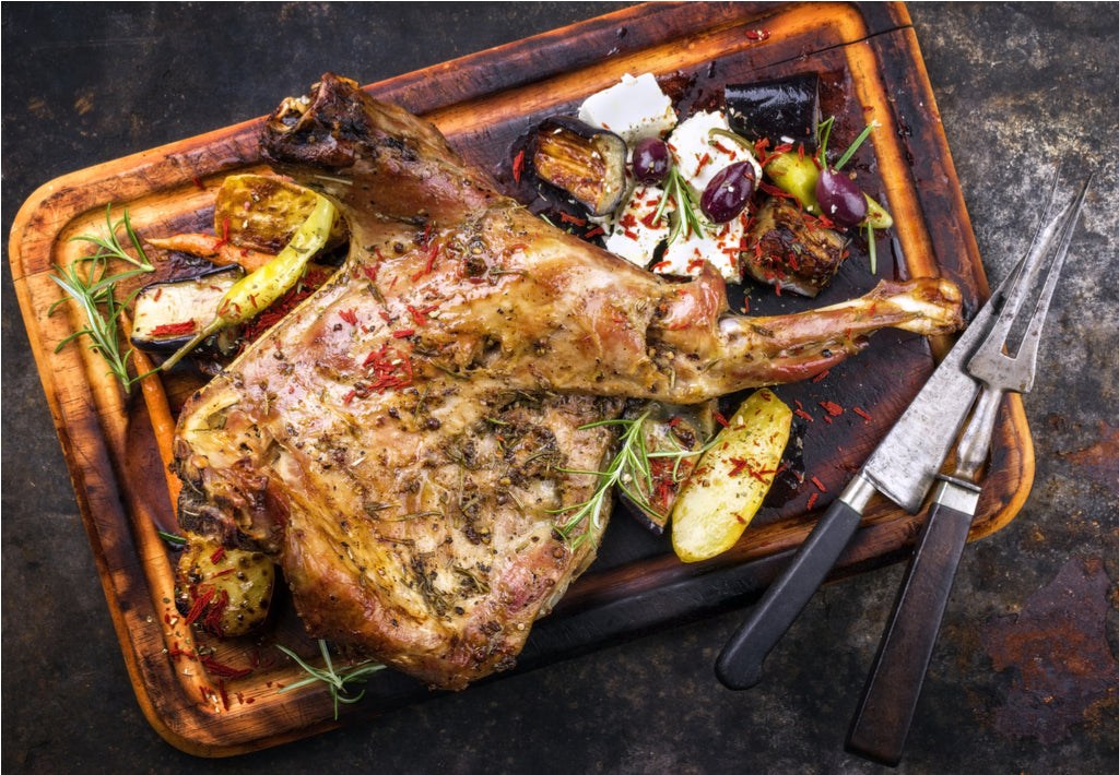 Gluten Free Slow Cooked Easter Shoulder of Lamb Recipe