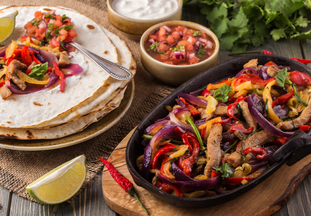 Gluten Free Spicy Chicken Fajitas Recipe