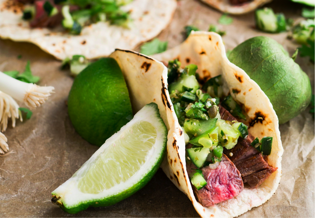Gluten Free Steak Tacos with Chilli and Lime Recipe