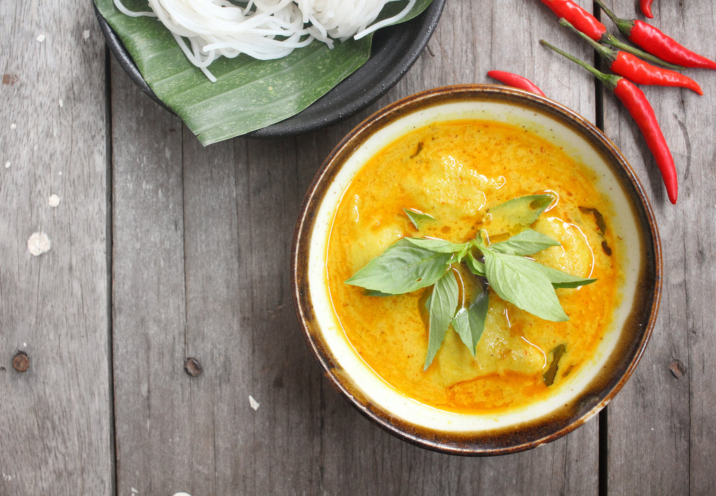 Gluten Free Thai Red Chicken Curry