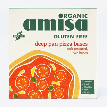 Amisa Gluten Free Pizza bases x 2