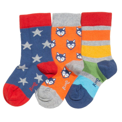 Kite Little Cub Socks - Pack of 3