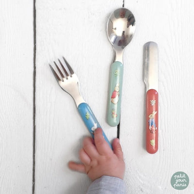 Cutlery 3 Piece Set Peter Rabbit - Fly Jesse- Unique, special and quality gifts