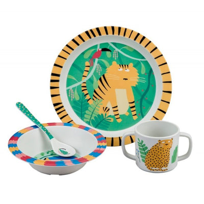 The Jungle 4 Piece Dinner Gift Set