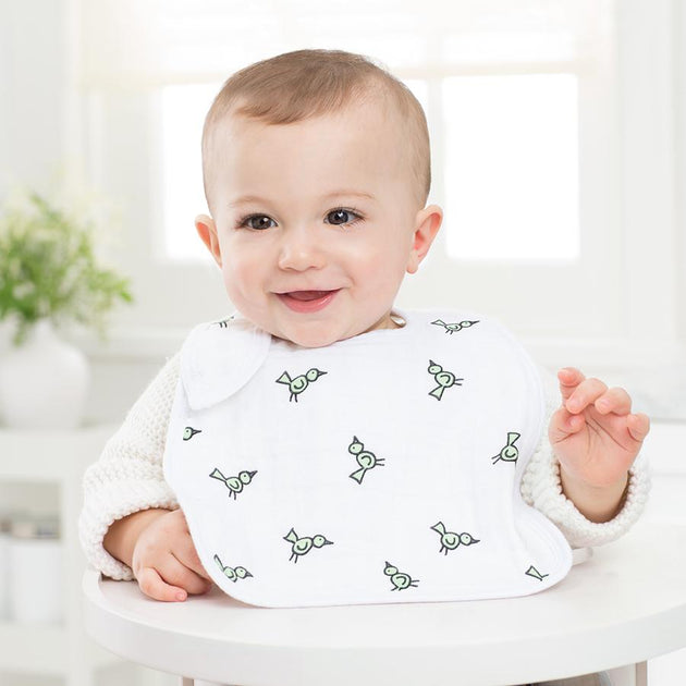 Aden & Anais Jungle Baby Snap Bibs - 3 Pack - Fly Jesse- Unique, special and quality gifts