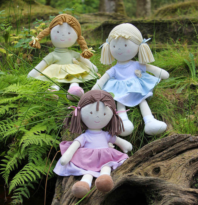 Imajo Brook Rag Doll - Fly Jesse- Unique, special and quality gifts