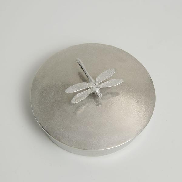 Pewter Dragonfly Jewellery Box - Large - Fly Jesse- Unique, special and quality gifts