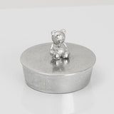 Teddy Bear Pewter Trinket Box - Fly Jesse- Unique, special and quality gifts