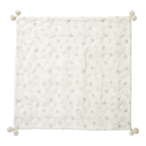 Pehr Little Lamb Hatched Blanket