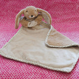 Brown Bunny Toy Baby Soother - Fly Jesse- Unique, special and quality gifts