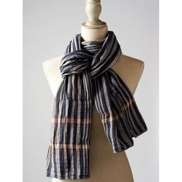 Letol Organic Cotton Charles Marine Scarf - Fly Jesse- Unique, special and quality gifts