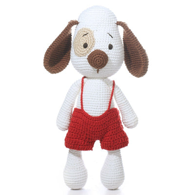 Imajo Handcrafted Crochet Dog Noel