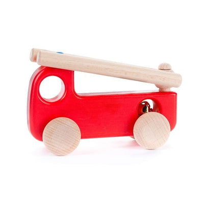 Bajo Red Wooden Fire Engine