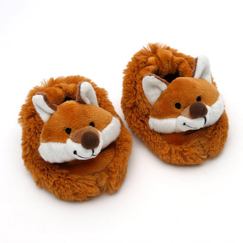 Fox Baby Slippers Aged 0-6 Months - Fly Jesse- Unique, special and quality gifts