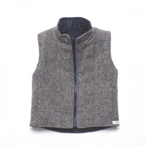 Ruth Lednik Tweed Reversible Gilet Coat - Fly Jesse- Unique, special and quality gifts