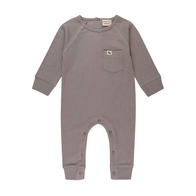 Turtledove London Grey Rib Playsuit Romper
