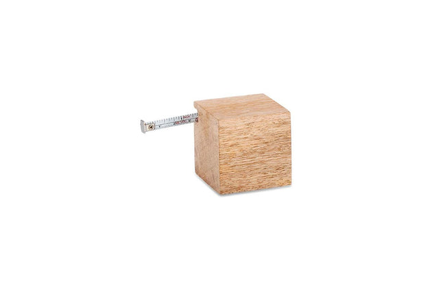 Hansa Wooden Geometric Tape Measure - Cube - Fly Jesse- Unique, special and quality gifts