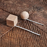 Hansa Wooden Geometric Tape Measure - Ball - Fly Jesse- Unique, special and quality gifts
