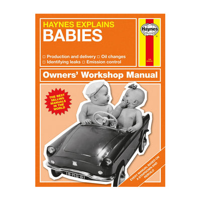 Haynes Explains: Babies Book - Fly Jesse- Unique, special and quality gifts