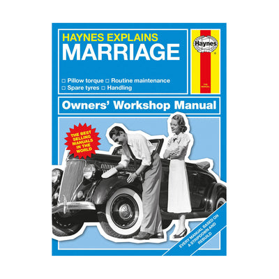 Haynes Explains Marriage Book - Fly Jesse- Unique, special and quality gifts