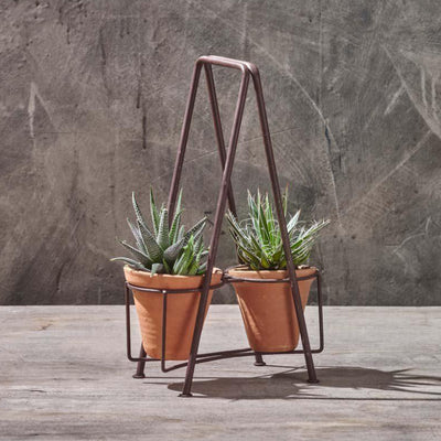 Nkuku Jara Double Planter Pots Set