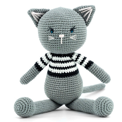 Imajo Handcrafted Crochet Cat