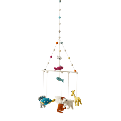 Pehr Noah's Ark Hanging Mobile - Fly Jesse