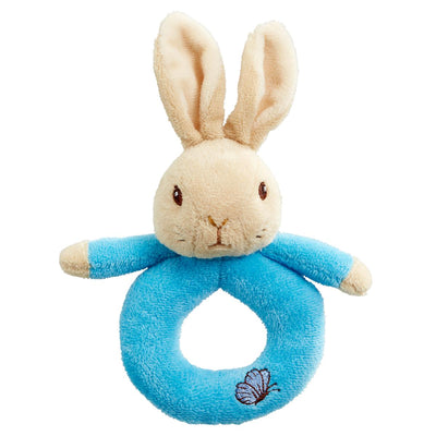 Peter Rabbit Plush Ring Rattles - Fly Jesse- Unique, special and quality gifts