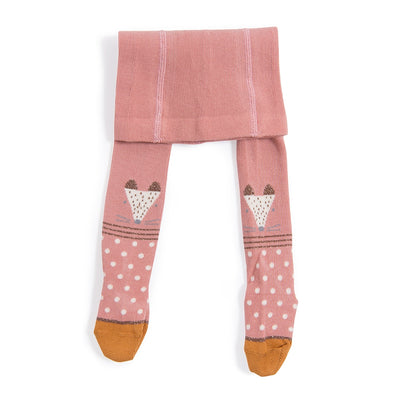 Moulin Roty Anouk Pink Fox Tights