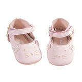 Moulin Roty Soft Pink Leather Baby Shoes - Aged 6-12 months - Fly Jesse- Unique, special and quality gifts