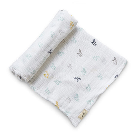 Pehr Large Rock A Bye Organic Cotton Swaddle