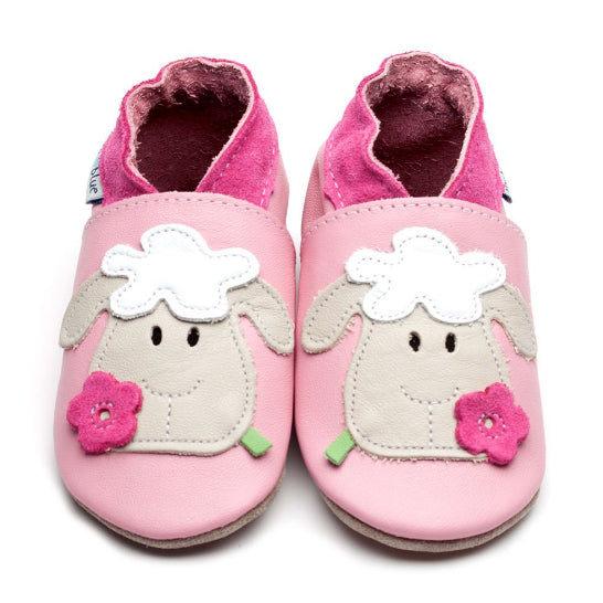 Inch Blue Baby Pink Sheep Shoes - Suede Soul