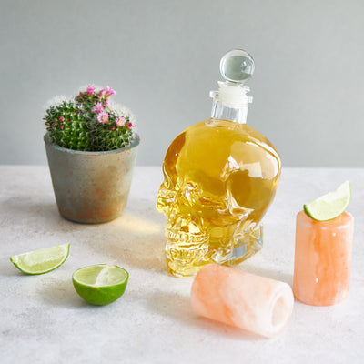 Skull Glass Decanter - Fly Jesse- Unique, special and quality gifts