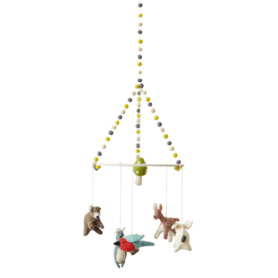 Pehr Woodland Creatures Hanging Mobile - Fly Jesse