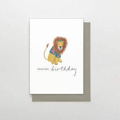 Stop The Clock Design Roarsome Birthday Card