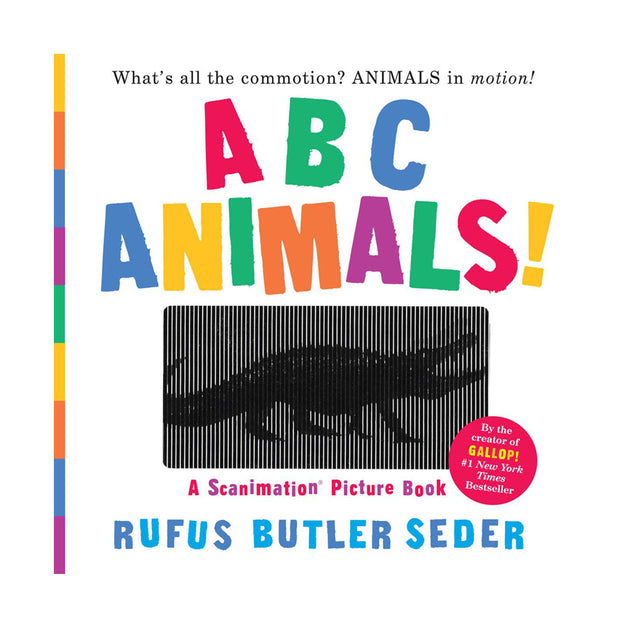 ABC Animals Scanimation Book - Fly Jesse- Unique, special and quality gifts
