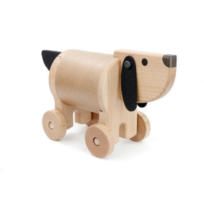 Bajo Wooden, Card Dog Safe Box & Money Box