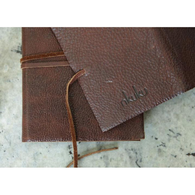 Nkuku Kadira Leather Journal A6 - Fly Jesse- Unique, special and quality gifts