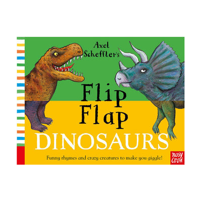 Flip Flap Dinosaurs Book - Fly Jesse- Unique, special and quality gifts