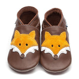 Inch Blue Brown Fox Shoes - GRIPZ Rubber Soul
