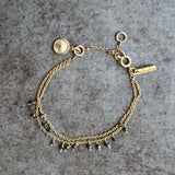Nkuku Mai Gold Bracelet - Fly Jesse- Unique, special and quality gifts