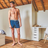Red Pyramid Organic Cotton Boxer Shorts - Fly Jesse- Unique, special and quality gifts