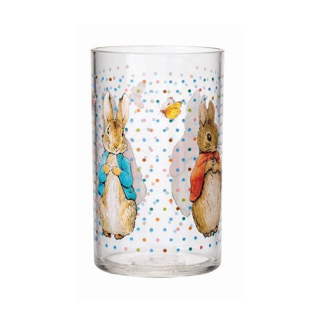 Peter Rabbit Clear Tumbler - Fly Jesse- Unique, special and quality gifts