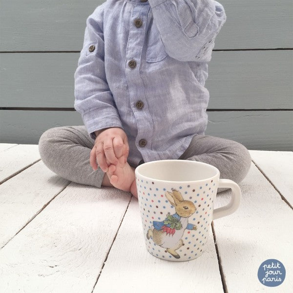 Small Mug Peter Rabbit - Fly Jesse- Unique, special and quality gifts